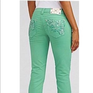 Miss me Signature skinny in peppermint